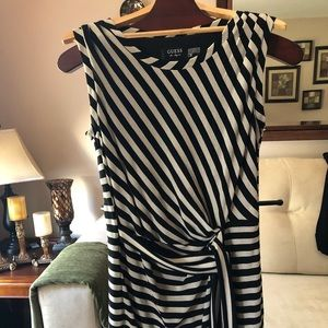 Black and white striped Guess dress!